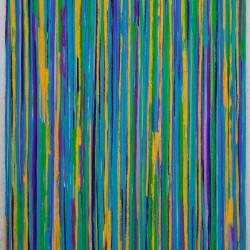 Luca Macauda, ST, 2015, pastello morbido su carta applicata su tavola, 105x75cm