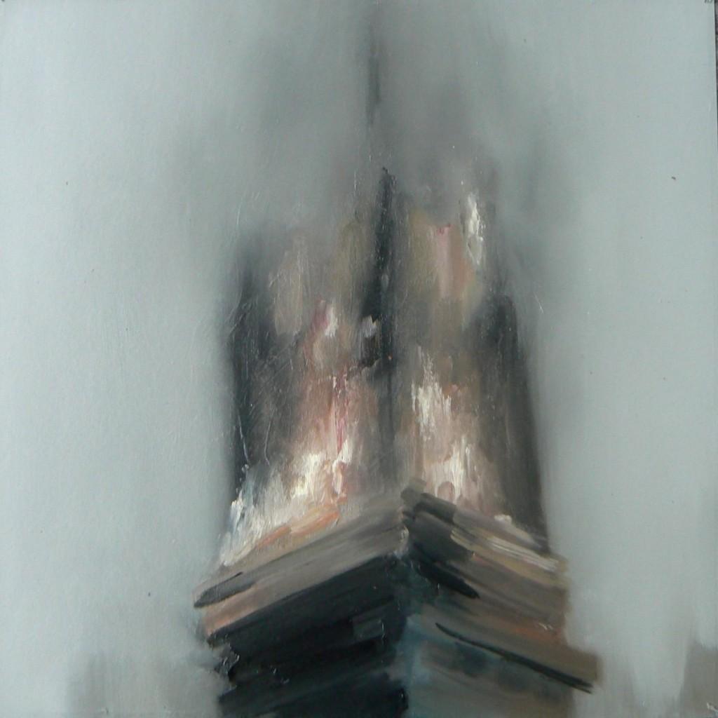 Nazzarena Poli Maramotti Feuer olio su cartoncino 30x30cm 2012_1200x1200