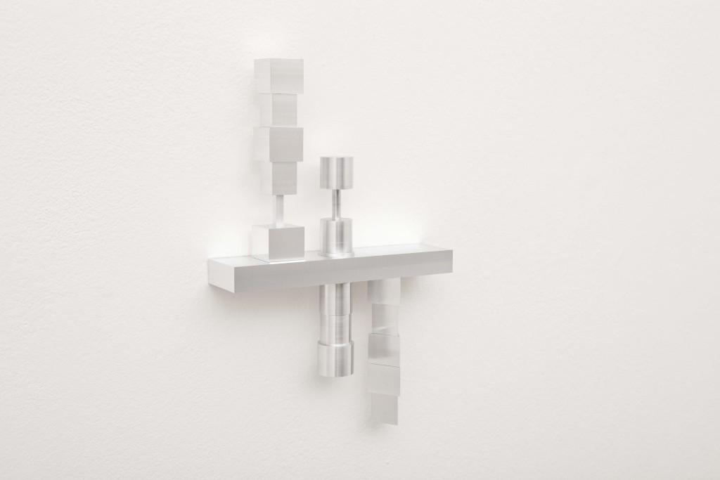 Silvia Hell, VRS (veglia ricordo sogno), 2014, alluminio, 30x20x5 cm