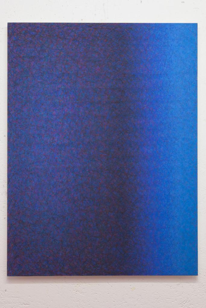 11) Untitled, pastello su carta applicata su tavola, cm 136x102, 2013_low