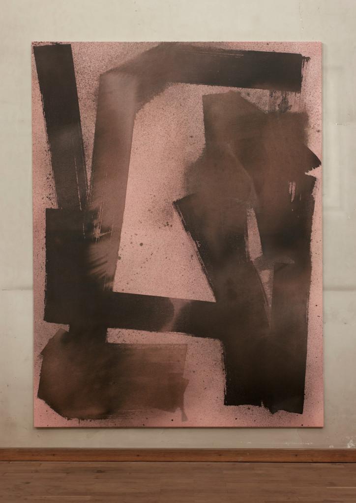 Max Frintrop Untitled_Ewok 2014 Mixed Media 200x150cm - courtesy AplusB Brescia