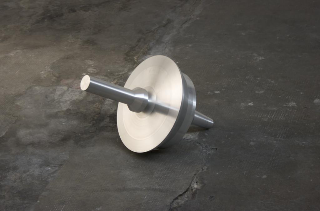 Silvia Hell, A Form of History, 2011, alluminio