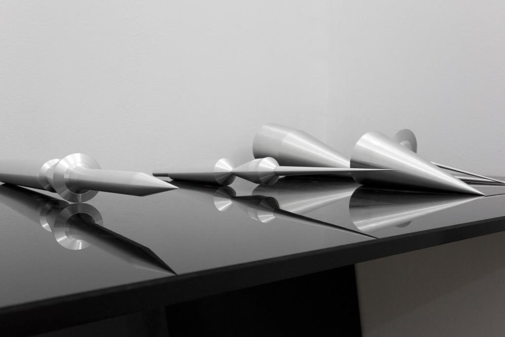 Silvia Hell, Mapki3 II, A Form of History, 2012, alluminio