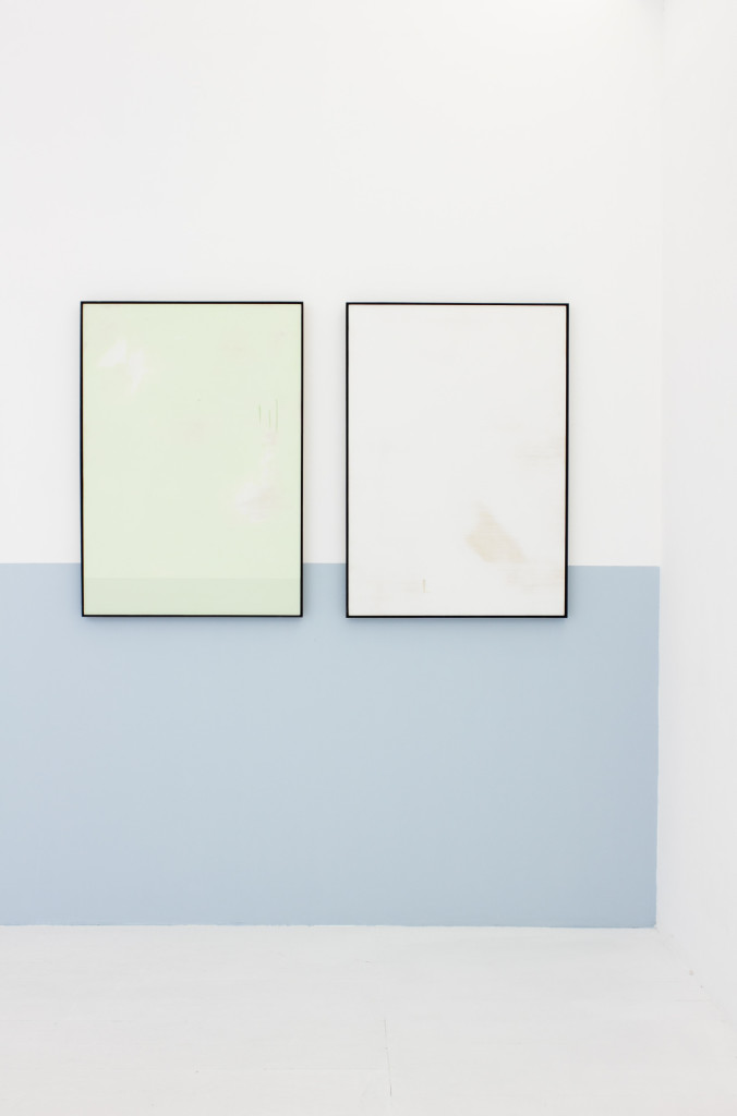 Tiziano Martini, view, #painting about around and within, 2014, Galleria Upp, Venice