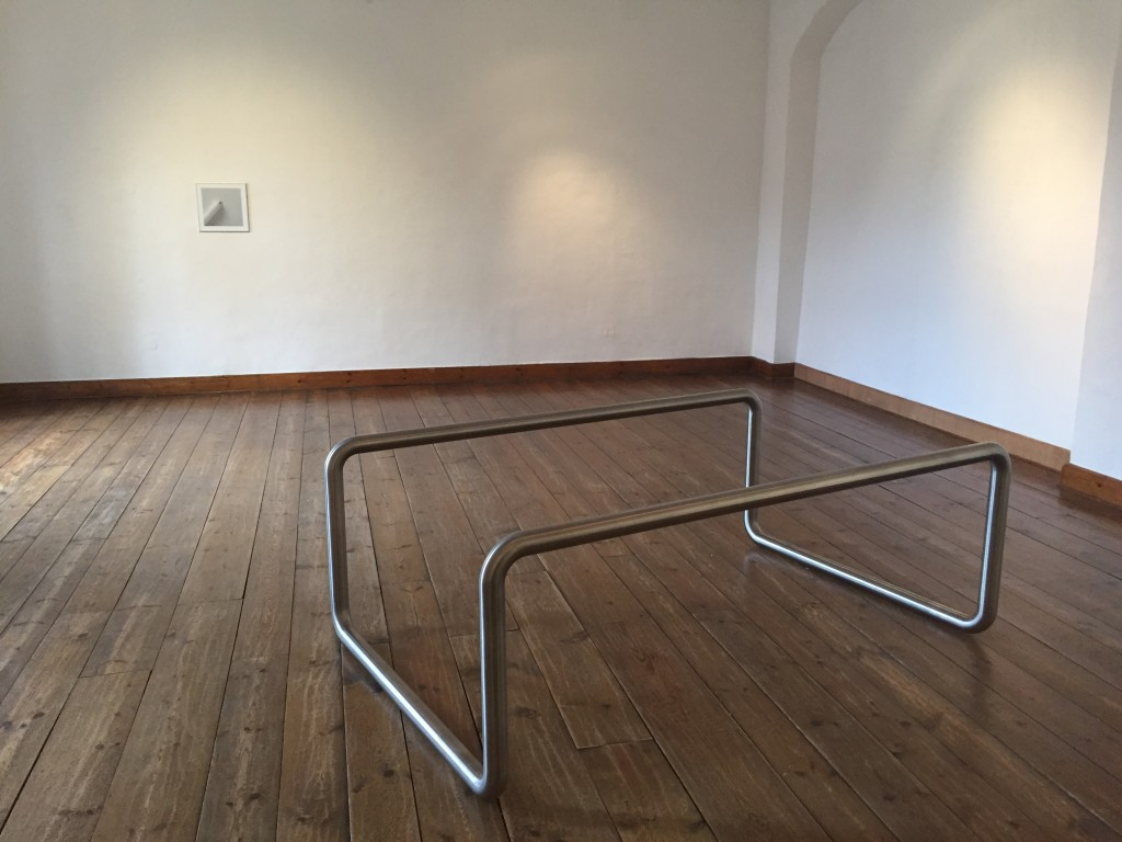Tobias Hoffknect, Ohne Titlel, metal, 2014