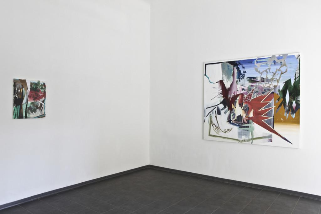 installation view, 2011, studio cannaviello, milan