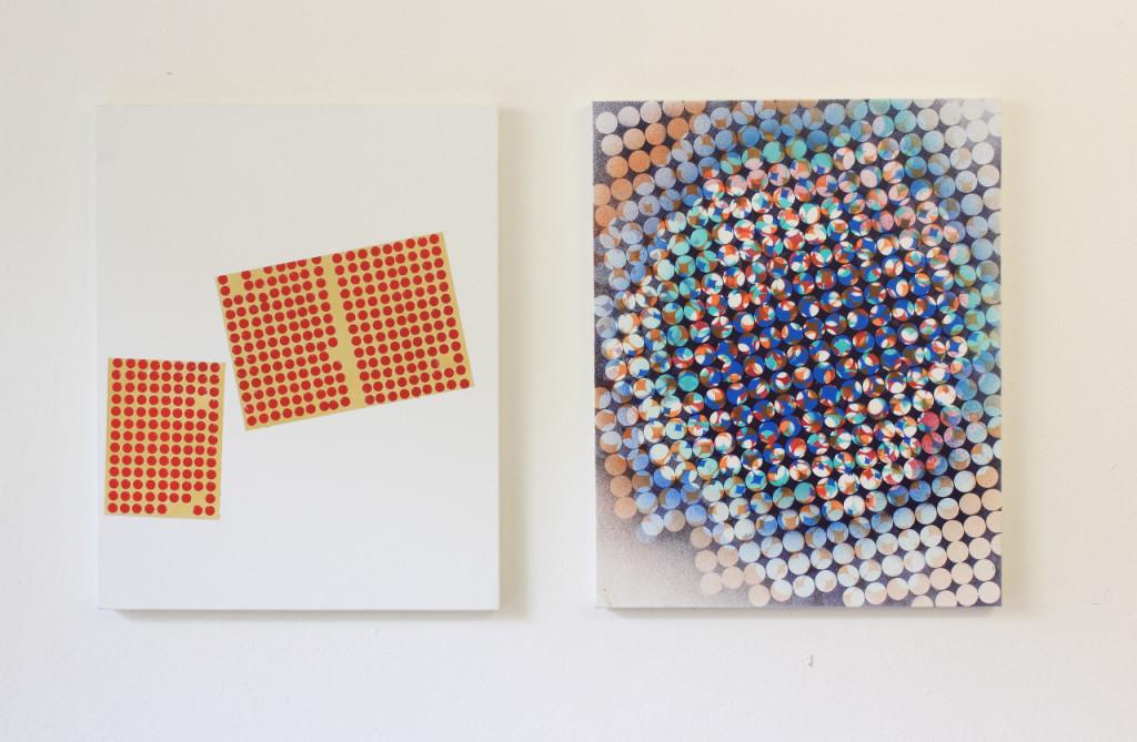 Tiziano Martini, exhibition view, 2013. trincea, Bologna