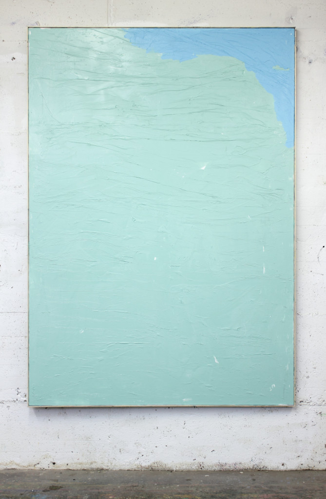 Tiziano Martini, 2014, acrylic paint on primer on cotton, artist frame, 210x150 cm